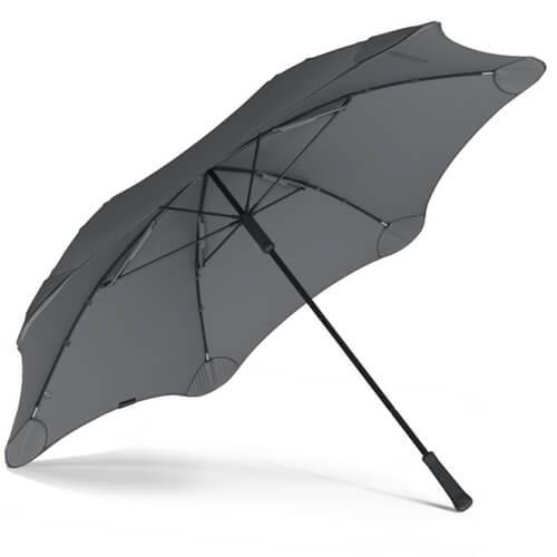 Фото Парасоля Blunt XL Колір: Сірий найкращий захист від дощу.