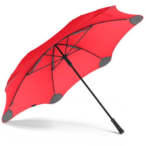 Фото Парасоля Blunt XL Колір: Червоний найкращий захист від дощу.