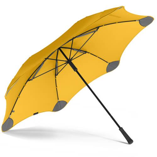 Фото Парасоля Blunt XL Колір: жовтий найкращий захист від дощу.