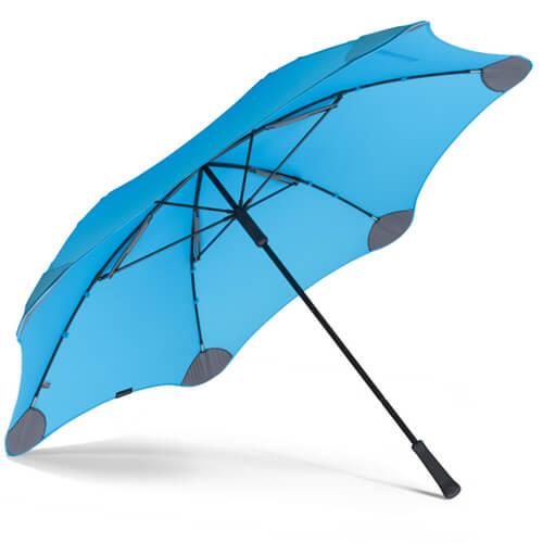 Фото Парасоля Blunt XL Колір: Синій найкращий захист від дощу.