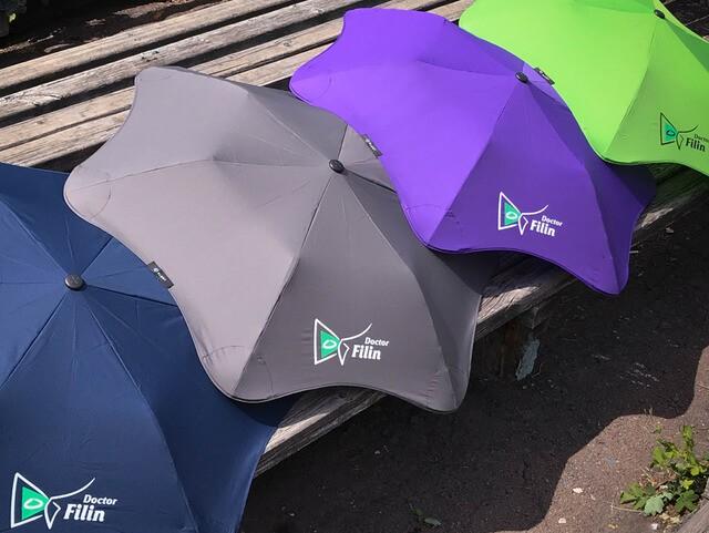 Брендирование зонтов Blunt filin