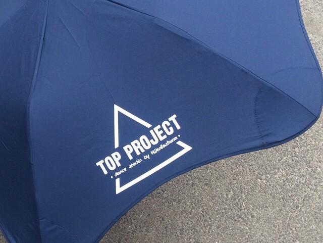 Брендирование зонтов Blunt top project