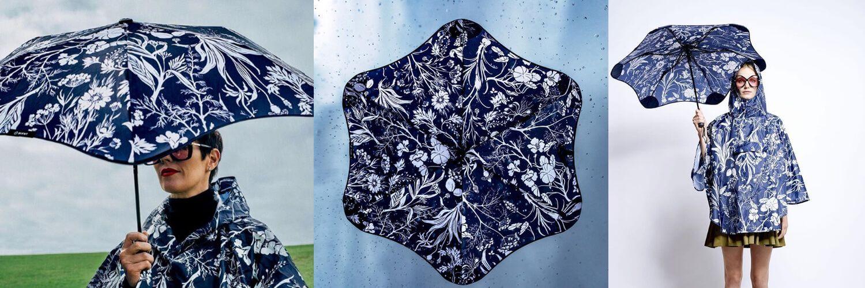Фото Дизайнерська парасоля Blunt XS_Metro найкращий захист від дощу для жінок.